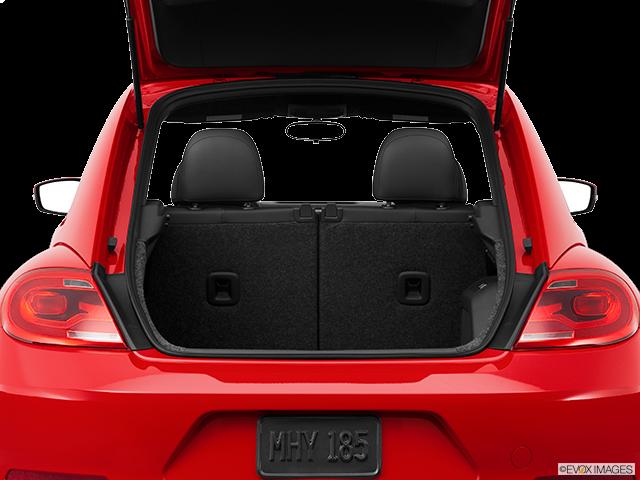 2012 Volkswagen Beetle Trunk open