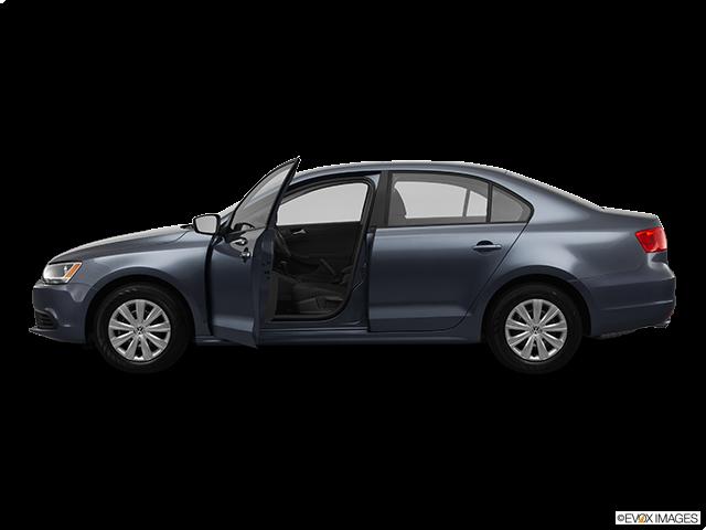 2012 Volkswagen Jetta Driver's side profile with drivers side door open
