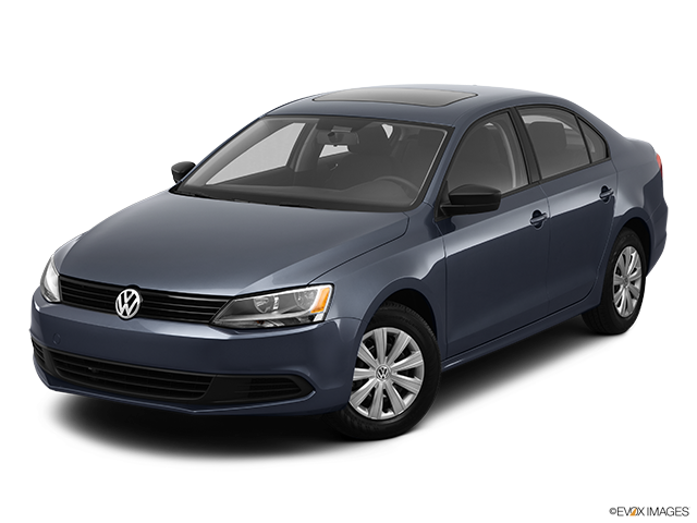 2012 Volkswagen Jetta Front angle view