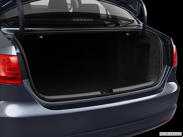 2012 Volkswagen Jetta Trunk open