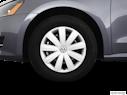 2012 Volkswagen Passat Front Drivers side wheel at profile