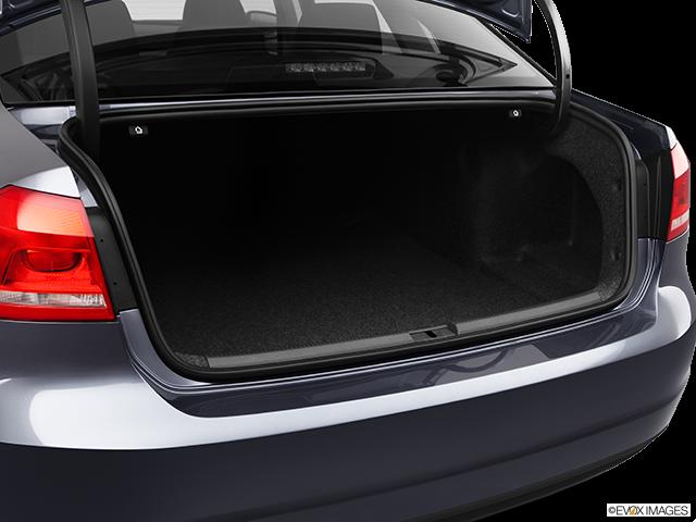 2012 Volkswagen Passat Trunk open