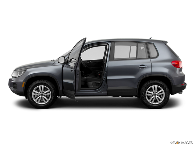2012 Volkswagen Tiguan Driver's side profile with drivers side door open