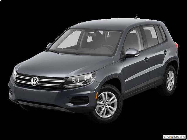 2012 Volkswagen Tiguan Front angle view