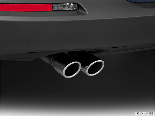 2012 Volkswagen Tiguan Chrome tip exhaust pipe