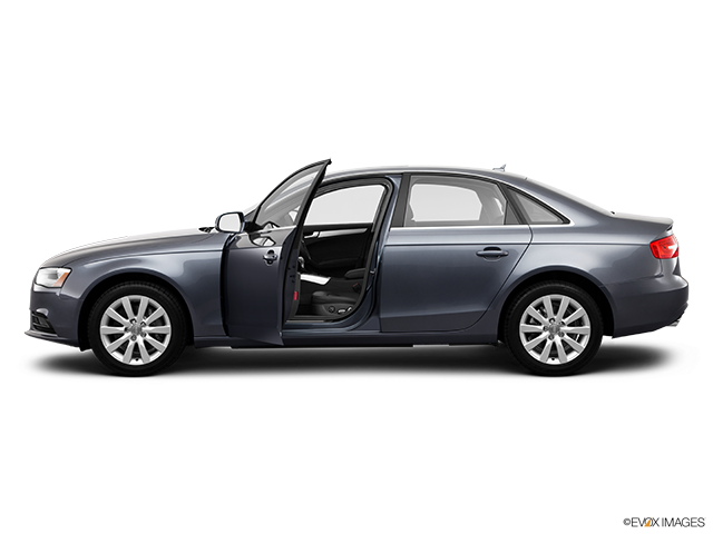 2013 Audi A4 Driver's side profile with drivers side door open