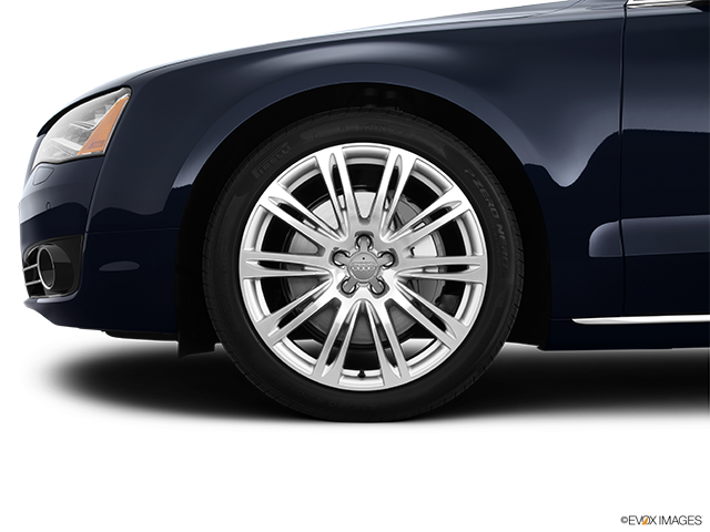 2013 Audi A8 Front Drivers side wheel at profile