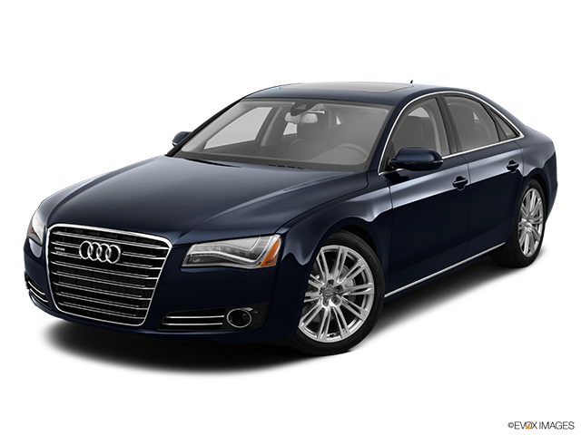 2013 Audi A8 Front angle view