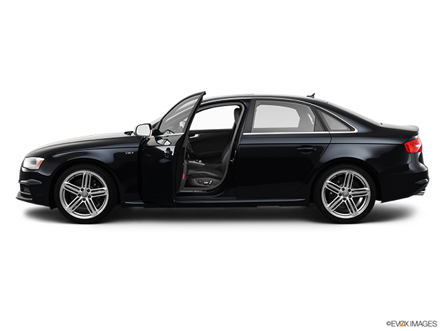 2013 Audi S4 Driver's side profile with drivers side door open
