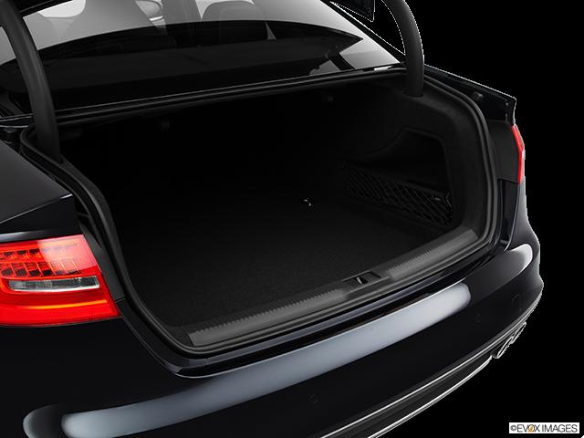 2013 Audi S4 Trunk open