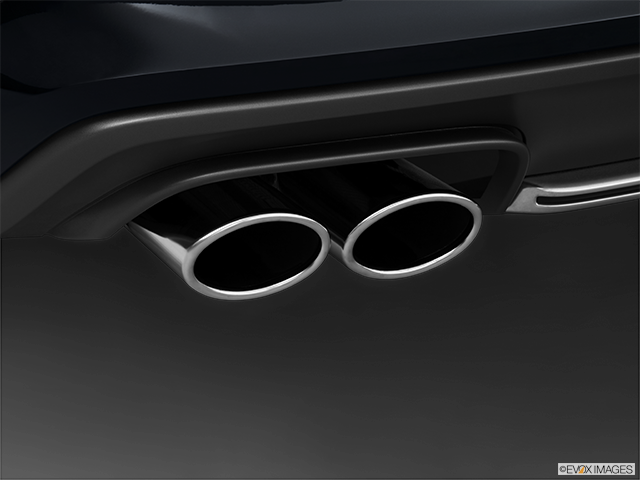 2013 Audi S4 Chrome tip exhaust pipe