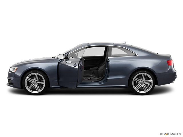 2013 Audi S5 Driver's side profile with drivers side door open
