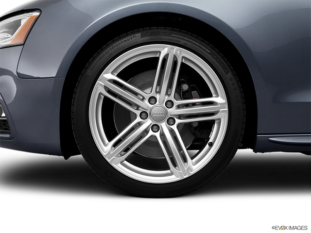 2013 Audi S5 Front Drivers side wheel at profile