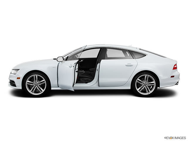 2013 Audi S7 Driver's side profile with drivers side door open