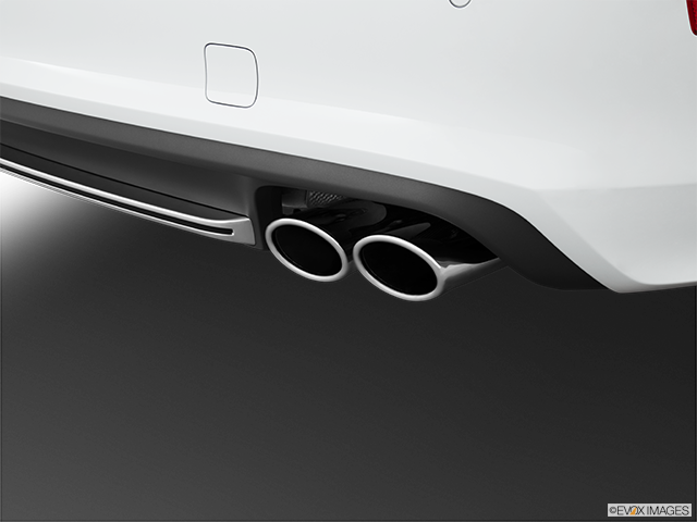 2013 Audi S7 Chrome tip exhaust pipe