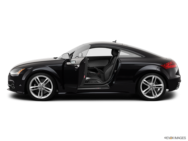 2013 Audi TTS Driver's side profile with drivers side door open