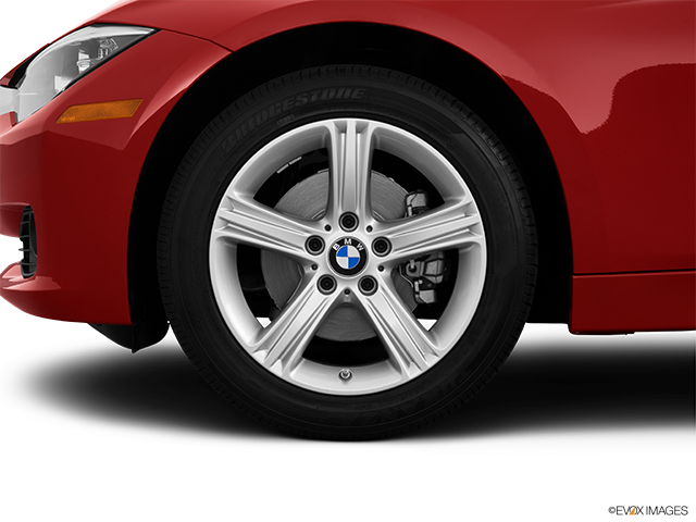 2013 BMW 3 Series Front Drivers side wheel at profile
