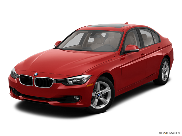 2013 BMW 3 Series Front angle view