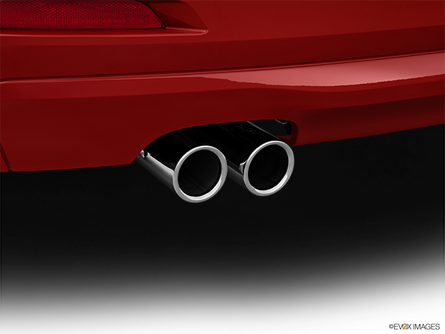 2013 BMW 3 Series Chrome tip exhaust pipe