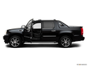 2013 Cadillac Escalade EXT Driver's side profile with drivers side door open