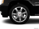 2013 Cadillac Escalade EXT Front Drivers side wheel at profile