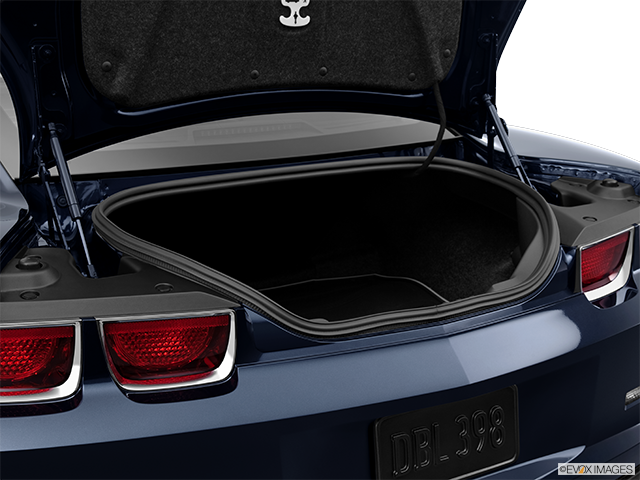 2013 Chevrolet Camaro Trunk open