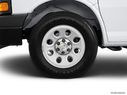 2013 Chevrolet Express Cargo Front Drivers side wheel at profile