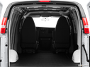 2013 Chevrolet Express Cargo Trunk open