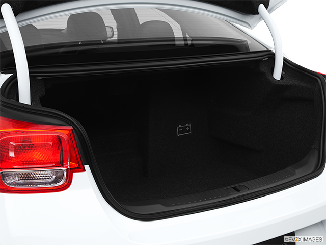 2013 Chevrolet Malibu Trunk open