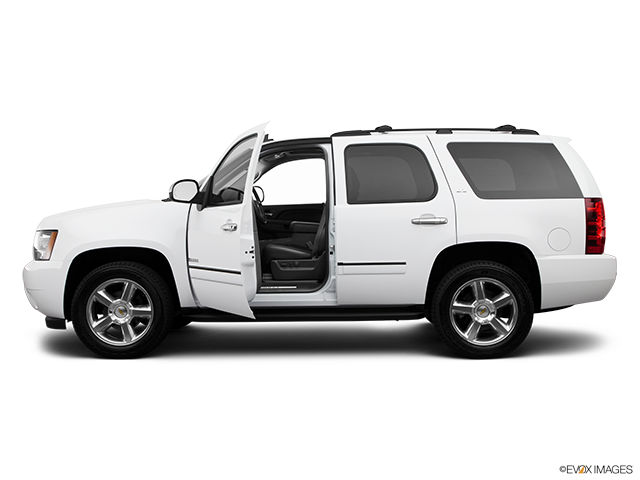2013 Chevrolet Tahoe Driver's side profile with drivers side door open