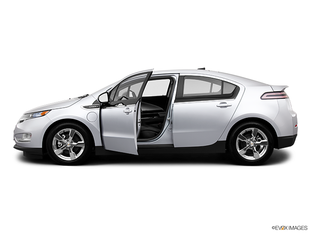 2013 Chevrolet Volt Driver's side profile with drivers side door open