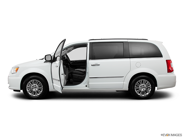 2013 Chrysler Town and Country Driver's side profile with drivers side door open