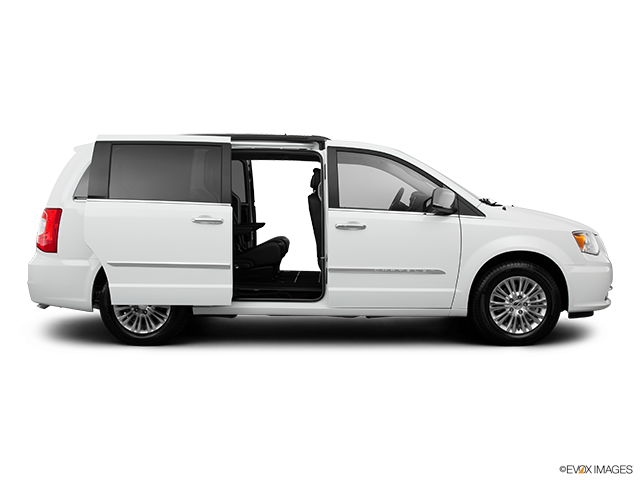 2013 Chrysler Town and Country Passenger's side view, sliding door open (vans only)