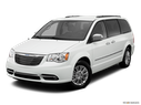 2013 Chrysler Town and Country Front angle view