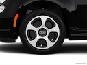 2013 FIAT 500e Front Drivers side wheel at profile