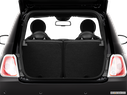 2013 FIAT 500e Trunk open