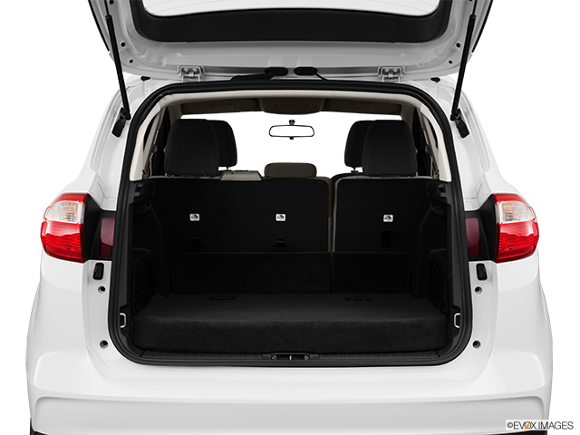 2013 Ford C-MAX Hybrid Trunk open