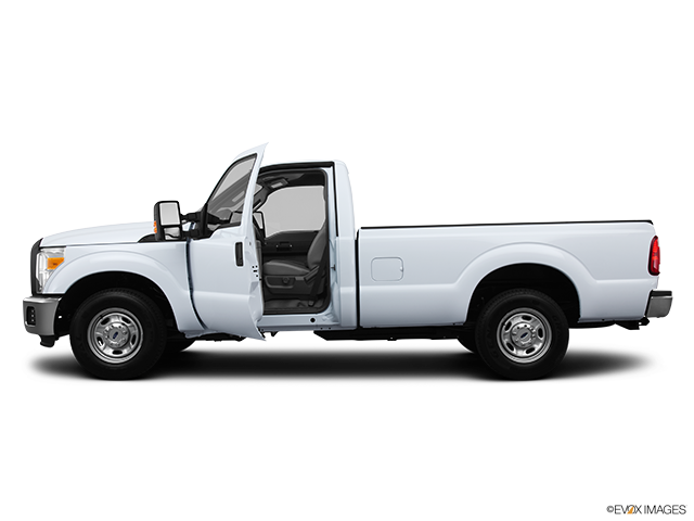 2013 Ford F-250 Super Duty Driver's side profile with drivers side door open