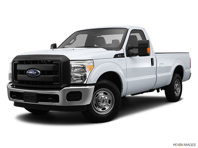 2013 Ford F-250 Super Duty Front angle medium view