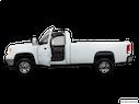 2013 GMC Sierra 2500HD Driver's side profile with drivers side door open