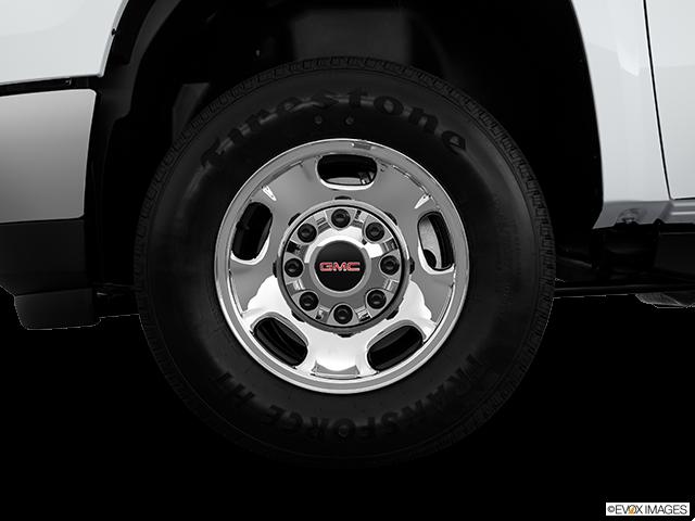 2013 GMC Sierra 2500HD Front Drivers side wheel at profile