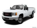 2013 GMC Sierra 2500HD Front angle view