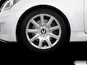 2013 Hyundai Equus Front Drivers side wheel at profile