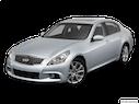 2013 INFINITI G37 Sedan Front angle view