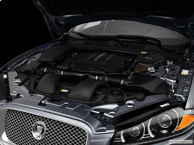 2013 Jaguar XF Engine