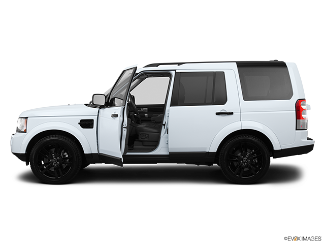 2013 Land Rover LR4 Driver's side profile with drivers side door open
