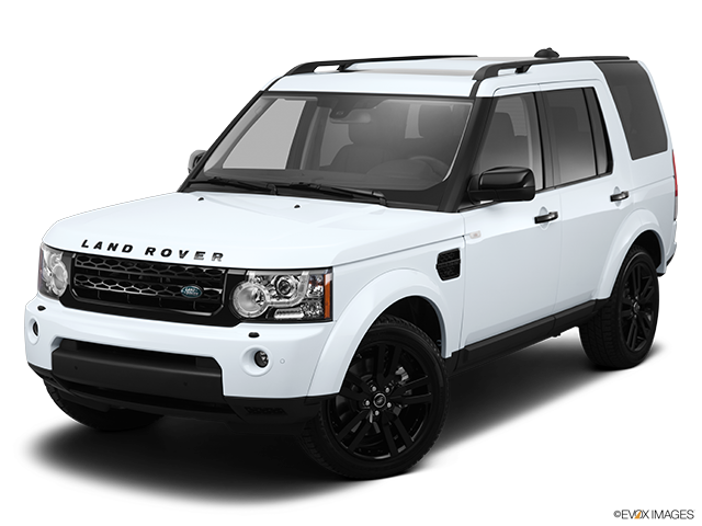 2013 Land Rover LR4 Front angle view