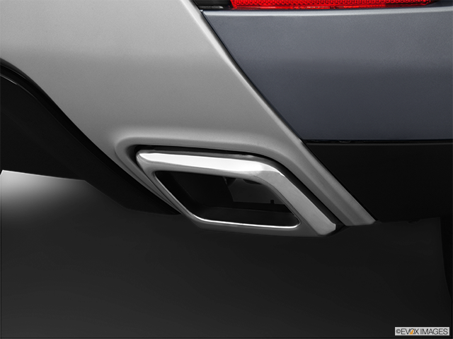 2013 Land Rover Range Rover Evoque Chrome tip exhaust pipe