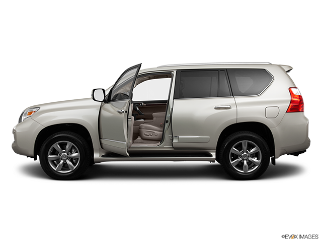 2013 Lexus GX 460 Driver's side profile with drivers side door open
