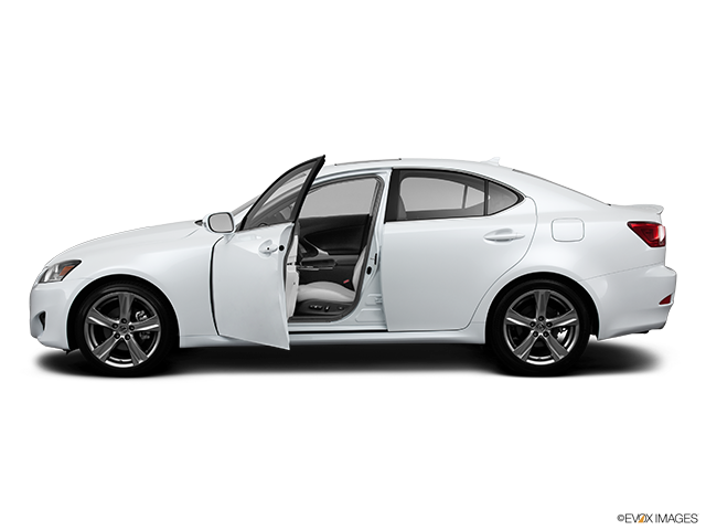 2013 Lexus IS 250 Driver's side profile with drivers side door open